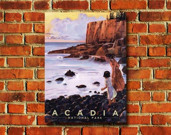 Acadia National Park Poster - #0780
