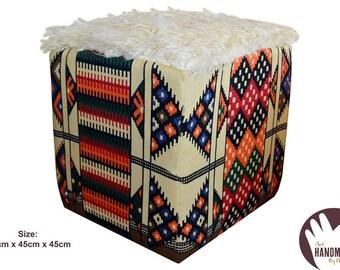 Handmade poufs - ottoman