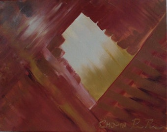 SALE! 35% off: Chopin - Original Abstract Painting on Canvas