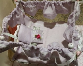 Dollhouse Master Bedroom Canopy Bed