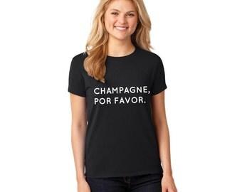champagne, por favor