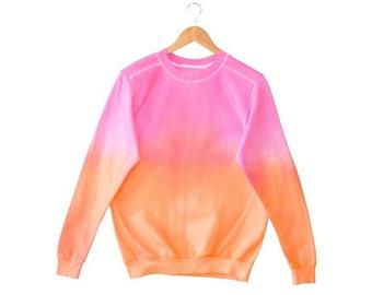 Ombre Dip Dye - Tie Dye Jumper