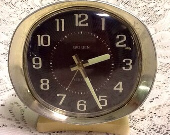 Free Shipping! Westclox Big Ben Alarm Clock