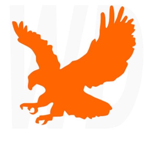 Auburn War Eagle Clip Art >> Auburn Football Clipart. Auburn Eagle Svg Dxf Eps Cutting Files For By Walkerdesigns6. Talkin ...