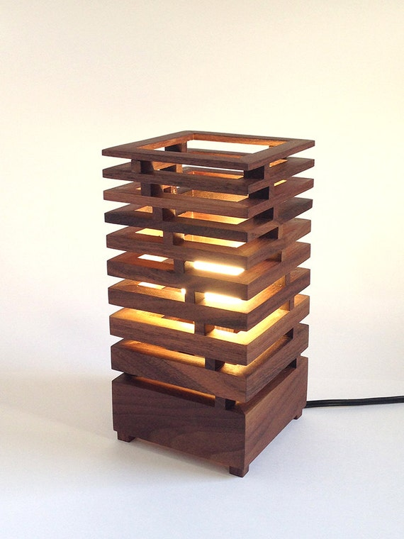 geometric bauhaus american black walnut table by laloupedesign. Black Bedroom Furniture Sets. Home Design Ideas