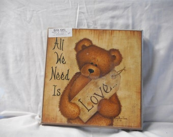 All we need is love sign
