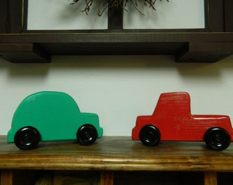Wooden Toy Car or Truck