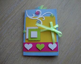 Mini colorful photo album