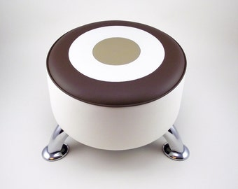 Coffee Target footstool