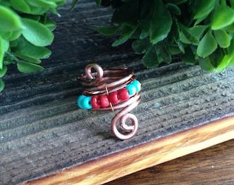 Whirligig Ring Azul