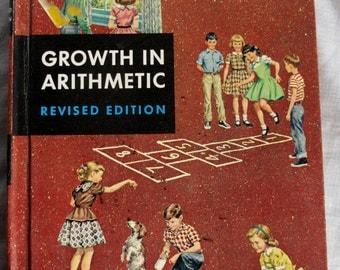 1956 3rd Grade Arithmetic Textbook