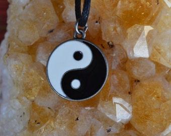 Yin Yang Taijitu Charm Necklace