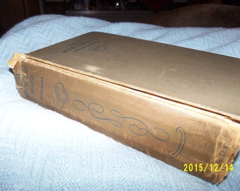 Gone with the Wind by Margaret Mitchell Oct. 1936 Print Date