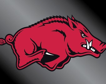 Arkansas Razorbacks Vinyl Decal Sticker