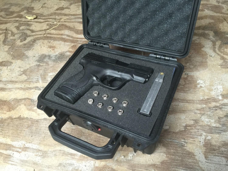 M And P Shield Custom Custom Gun Case M&...
