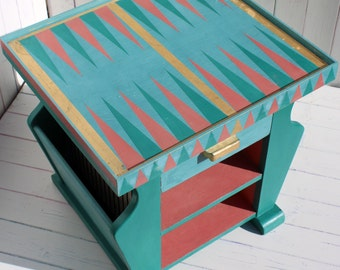 Art Deco Coffee/games table