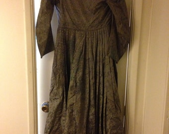 Vintage late 1700 early 1800ds dress