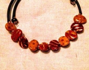 Kazuri beads necklace.