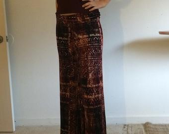 Boho wide leg pants