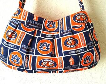 Auburn University Tigers Pleated Purse