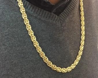 Royal necklace 18 k