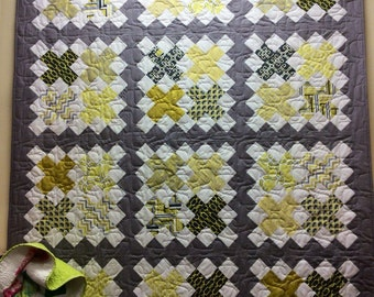 Cross Stitch quilt kit