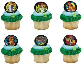 Lion King Cupcake Toppers Etsy