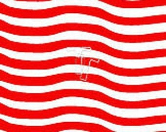 Wavy Stripes Stencil By 2t's