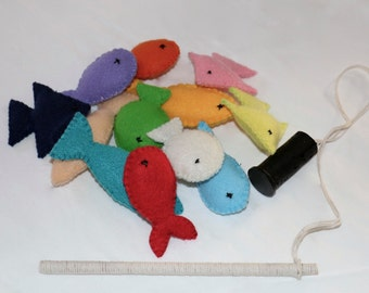 Felt Fishing Set