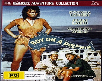Boy on a Dolphin (1957)DVD * Alan Ladd * Clifton Webb * Sophia Loren * Region 4