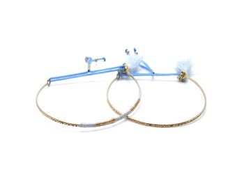 Skinny Friendship Bracelets - Gold