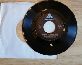 BAY CITY ROLLERS - 45 Record - 1977 - Ahhh the memories