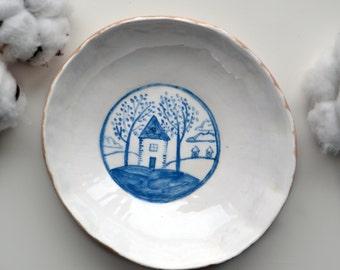 Handmade Small Bowl,Side Dish Bowl ,Snack Bowl, Small Bowl