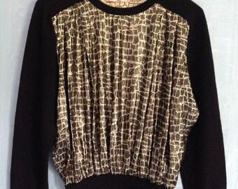 Valentino vintage wool blouse