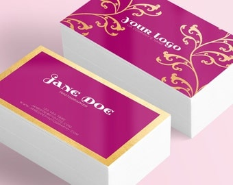 Royalty business card design + Printing (optional) + FREE SHIPPING