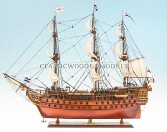 HMS Victor 1765 Model Tall Ship