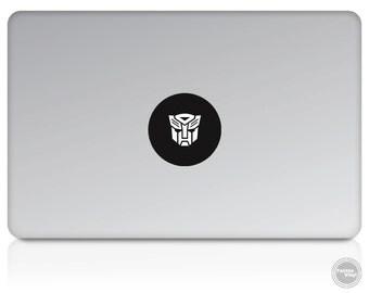 Transformers Autobot Macbook Vinyl Decal