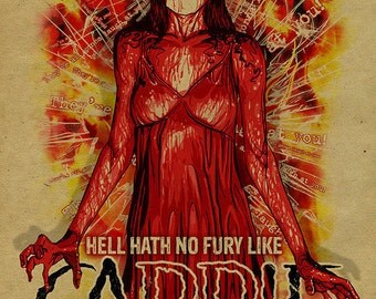 Carrie movie poster 11x17