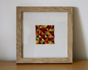 Glazig embroidery - Autumn colors