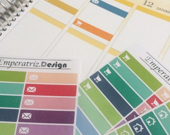 Icon-Stripes for ec, ppp, diary,planner