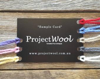 Outback Sample Card
