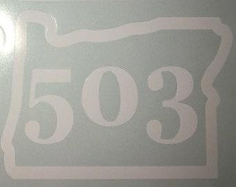 Oregon Sticker-503