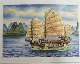 Cross Stitch #25  Halong Bay