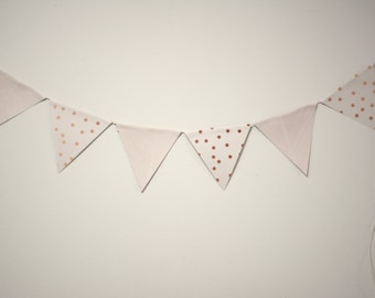 Gold Patterned Bunting