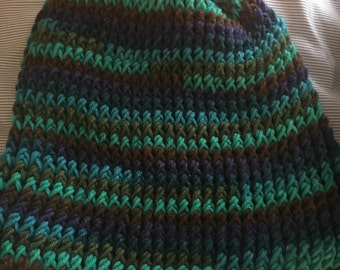 Crocheted Slouchy Beanie