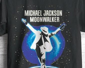 Michael Jackson Moonwalker T-Shirt, thriller, king of pop tee New