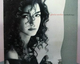 "SALE Vintage Record Vinyl  ""Cuts Both Ways"" (album) 1989 Pop Gloria Estefan Gift, Wedding, Man Cave, Music, Wedding"