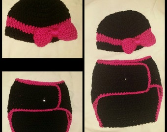 Infant hat and diaper cover