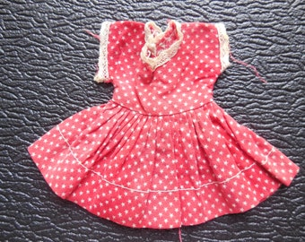 Vintage hand made doll clothes - barbie dress - barbie clothes -doll dress
