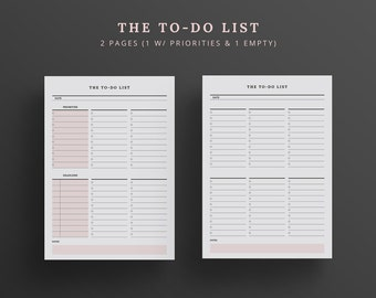 to do list with priority